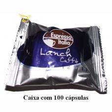 100 Cápsulas Café Espresso Italia Lunch