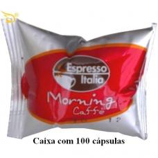 100 Cápsulas Espresso Italia Morning
